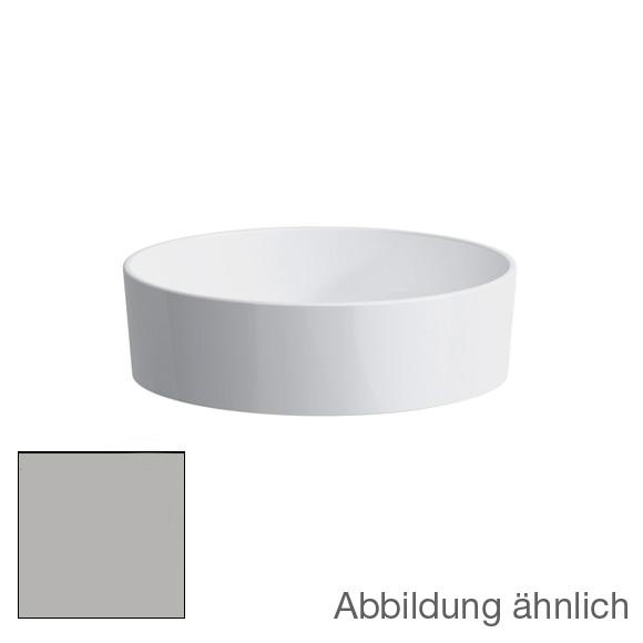 kartell by laufen waschtisch schale grau matt ohne. Black Bedroom Furniture Sets. Home Design Ideas