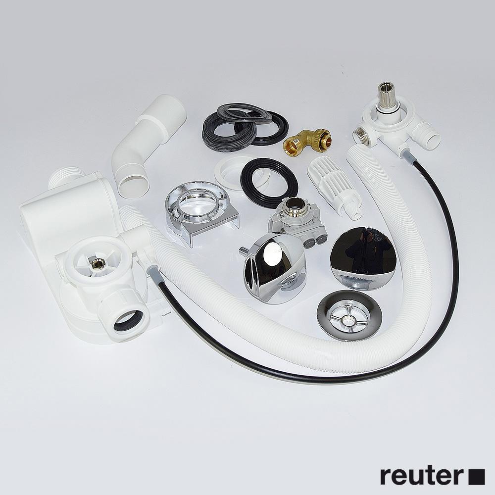 laufen ab und berlaufgarnitur mit integriertem wanneneinlauf f r il bagno alessi one. Black Bedroom Furniture Sets. Home Design Ideas
