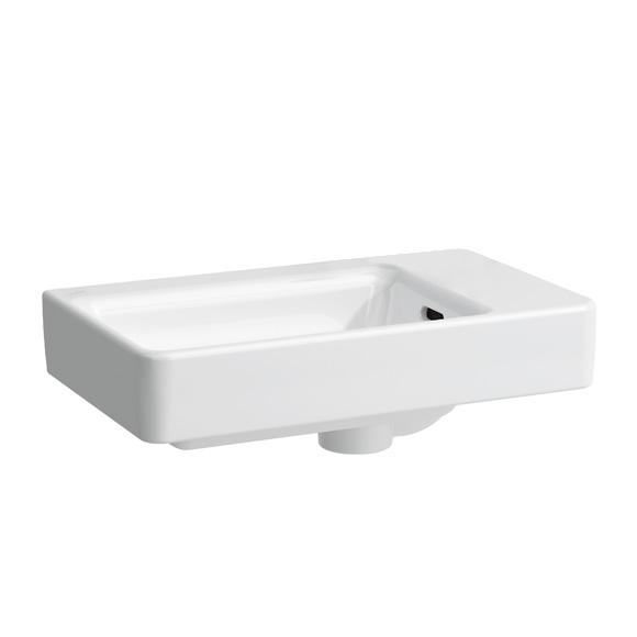 laufen pro handwaschbecken asymmetrisch wei mit clean coat ohne hahnloch 8159544001091. Black Bedroom Furniture Sets. Home Design Ideas