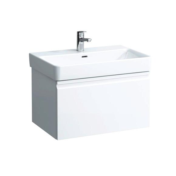 laufen pro s waschtisch wei mit berlauf und 1 hahnloch 8109670001041 reuter onlineshop. Black Bedroom Furniture Sets. Home Design Ideas