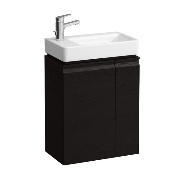 Laufen pro s handwaschbecken unterbau wenge for Meuble laufen pro s