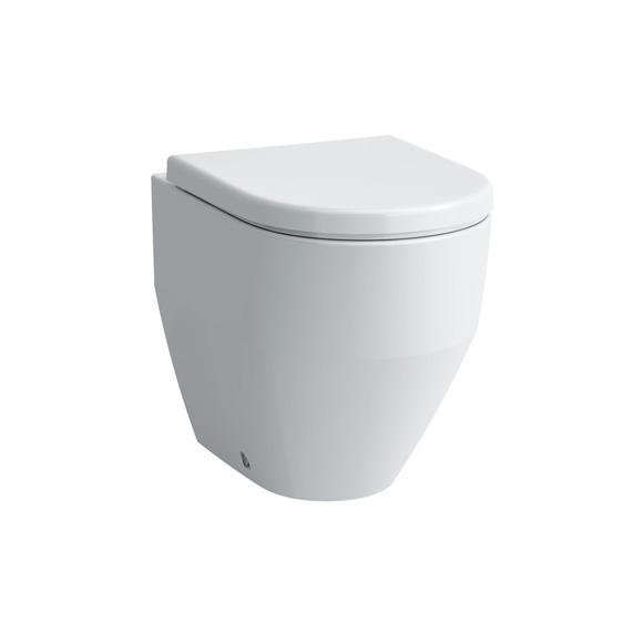 laufen pro stand tiefsp l wc wandb ndig l 53 b 36 cm wei mit clean coat 8229524000001. Black Bedroom Furniture Sets. Home Design Ideas