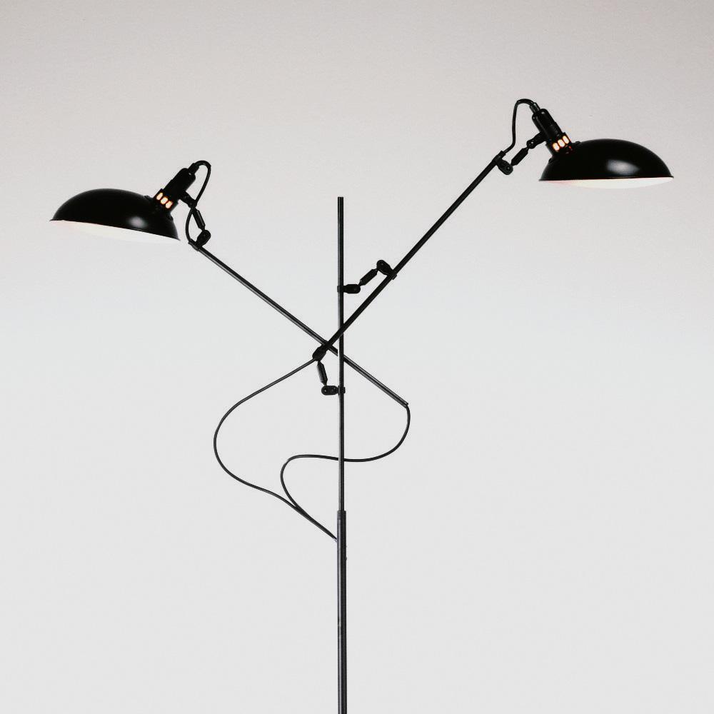 lambert switch on stehleuchte 2 flammig 47244 reuter. Black Bedroom Furniture Sets. Home Design Ideas