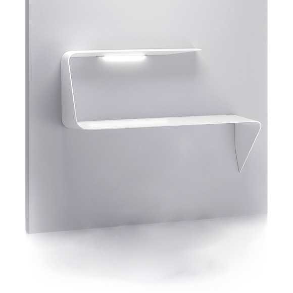 mdf italia mamba wandsekret r mit led f101201 0001. Black Bedroom Furniture Sets. Home Design Ideas