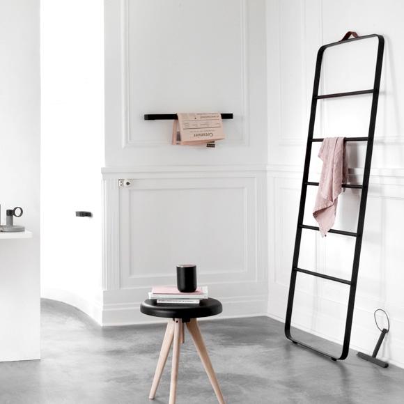 menu comfort handtuchleiter schwarz eiche 7800579 reuter onlineshop. Black Bedroom Furniture Sets. Home Design Ideas
