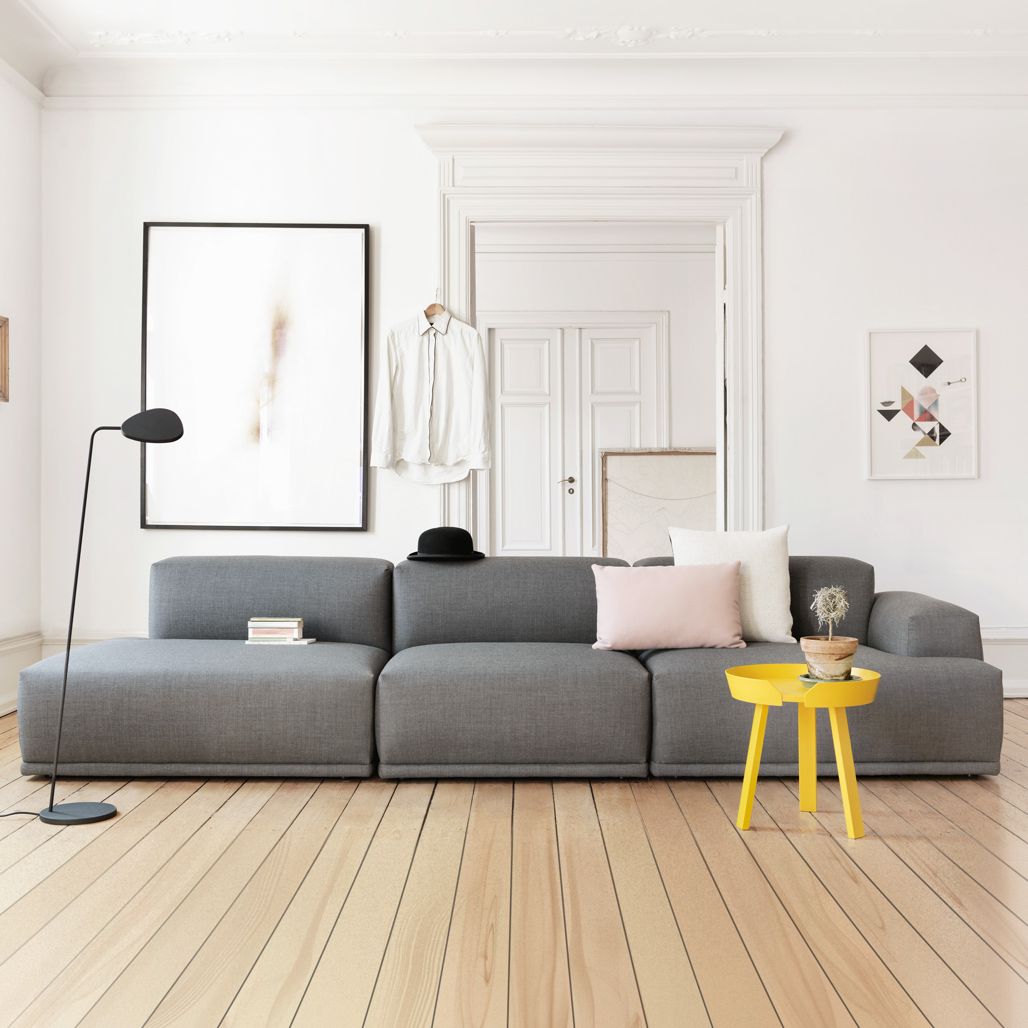 muuto connect sofa 3 sitzer 17462 17464 17466 reuter. Black Bedroom Furniture Sets. Home Design Ideas
