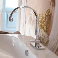 newform e-go-n 3810 Waschtisch-Einhebelmischer, Auslauf rund chrom