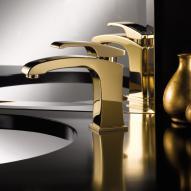 newform x-sense 62510 Waschtisch-Einhebelmischer gold matt