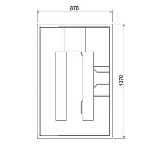 ottofond wannentr ger plateau l 140 b 90 cm 993008 reuter onlineshop. Black Bedroom Furniture Sets. Home Design Ideas