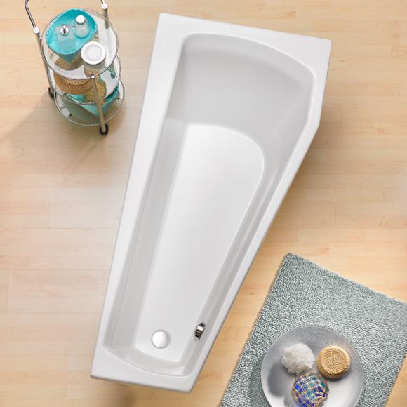 ottofond bahia raumspar badewanne modell a ausf hrung rechts 988001 reuter onlineshop. Black Bedroom Furniture Sets. Home Design Ideas