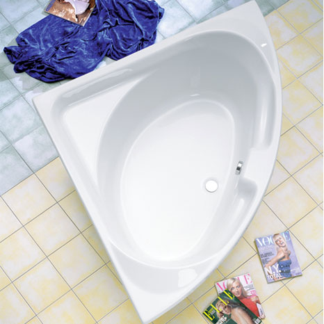 ottofond laguna eck badewanne ohne wannentr ger 950001. Black Bedroom Furniture Sets. Home Design Ideas