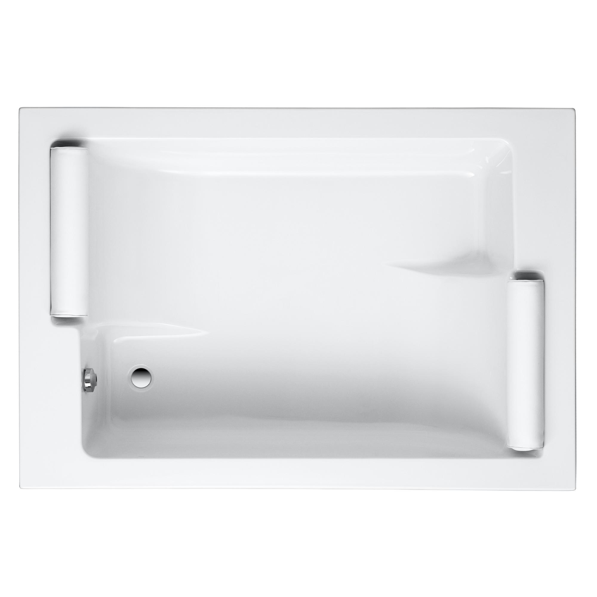 ottofond maharaja rechteck badewanne wei f r 2 personen mit wannentr ger 922001 w reuter. Black Bedroom Furniture Sets. Home Design Ideas