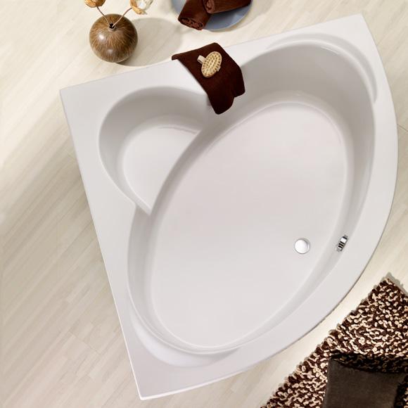ottofond sardinia eck badewanne mit sch rze 923001. Black Bedroom Furniture Sets. Home Design Ideas