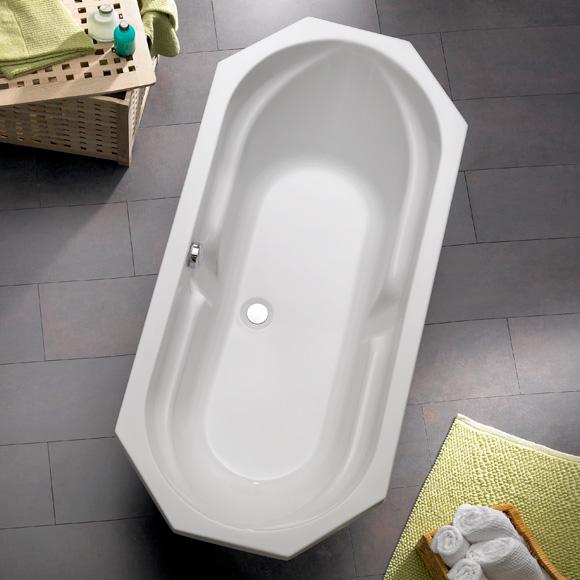 ottofond sicilia achteck badewanne wei mit wannentr ger. Black Bedroom Furniture Sets. Home Design Ideas