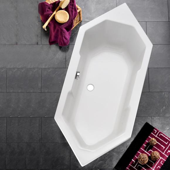 ottofond sierra sechseck badewanne ohne wannentr ger. Black Bedroom Furniture Sets. Home Design Ideas