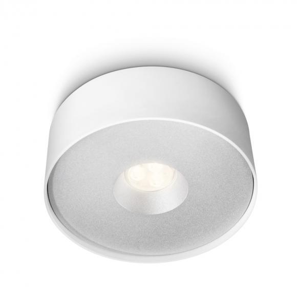 Philips myLiving Syon 32159/31/16 LED Deckenleuchte Ø 15.8 H: 5.7 cm, weiß . EEK: A+. Diese Leuchte enthält eingebaute LED-Lampen. A++ (LED), A+ (LED), A (LED). Die Lampen können in der Leuchte nicht ausgetauscht werden. 321593116