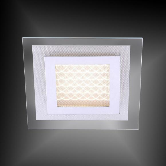 Paul Neuhaus Foil LED Deckenleuchte B: 22 H: 7,3 T: 22 cm, klar/matt/chrom 6350-17 FOIL, EEK: A+. Diese Leuchte enthält eingebaute LED-Lampen. A++ (LED), A+ (LED), A (LED). Die Lampen können in der Leuchte nicht ausgetauscht werden.