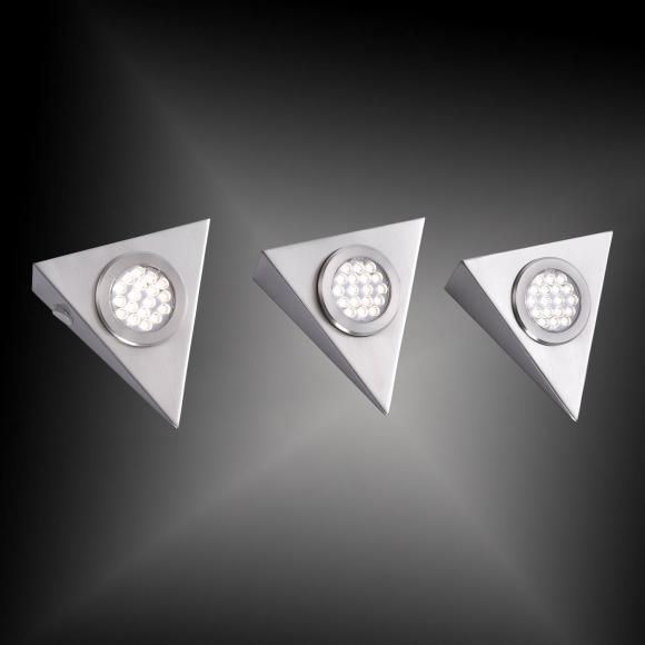 Paul Neuhaus Helena LED Unterbauleuchte mit Ein-/Ausschalter B:12,5 H:4 T:14 cm, aluminium 1119-55-3, EEK: A+. Diese Leuchte enthält eingebaute LED-Lampen. A++ (LED), A+ (LED), A (LED). Die Lampen können in der Leuchte nicht ausgetauscht werden.