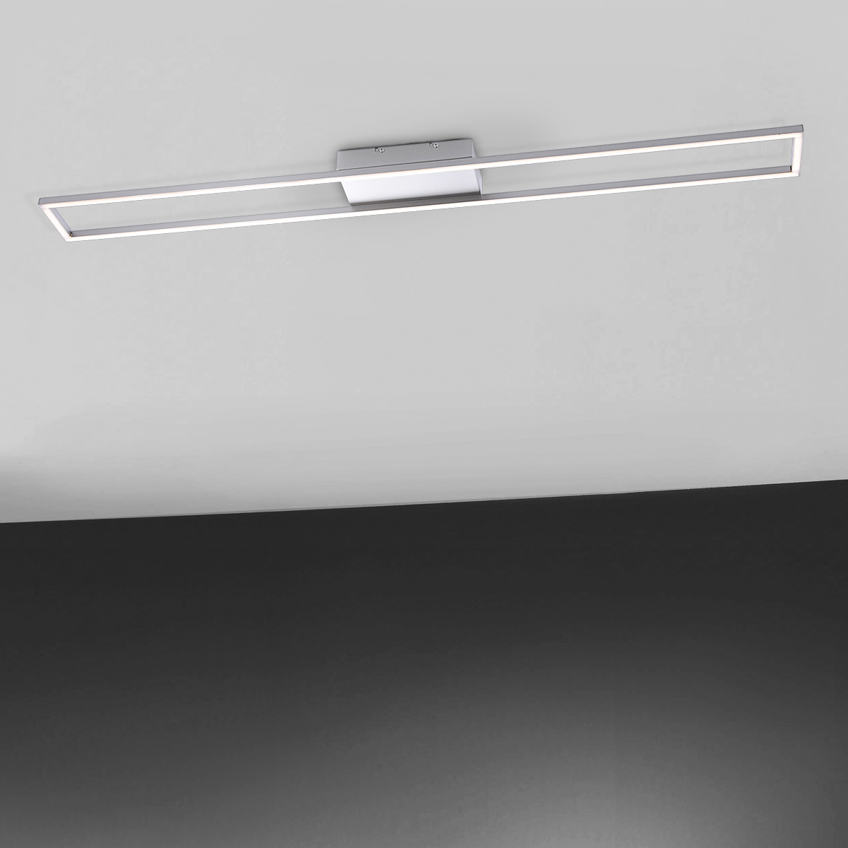 paul neuhaus inigo led deckenleuchte rechteckig 8085 55 inigo reuter onlineshop. Black Bedroom Furniture Sets. Home Design Ideas