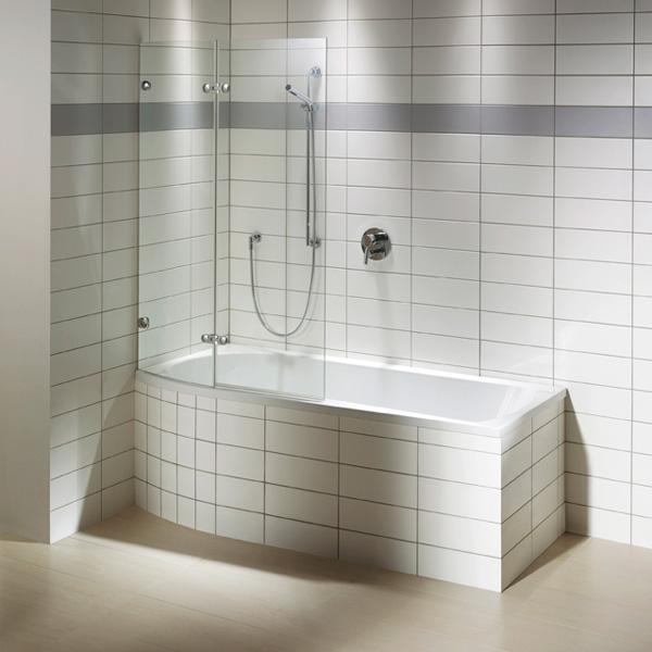 repabad arosa shower 170 rechts badewanne mit duschzone. Black Bedroom Furniture Sets. Home Design Ideas