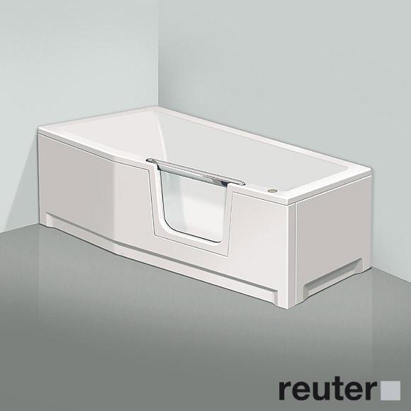 badewanne mit einstieg 160 cm duscholux raum und. Black Bedroom Furniture Sets. Home Design Ideas