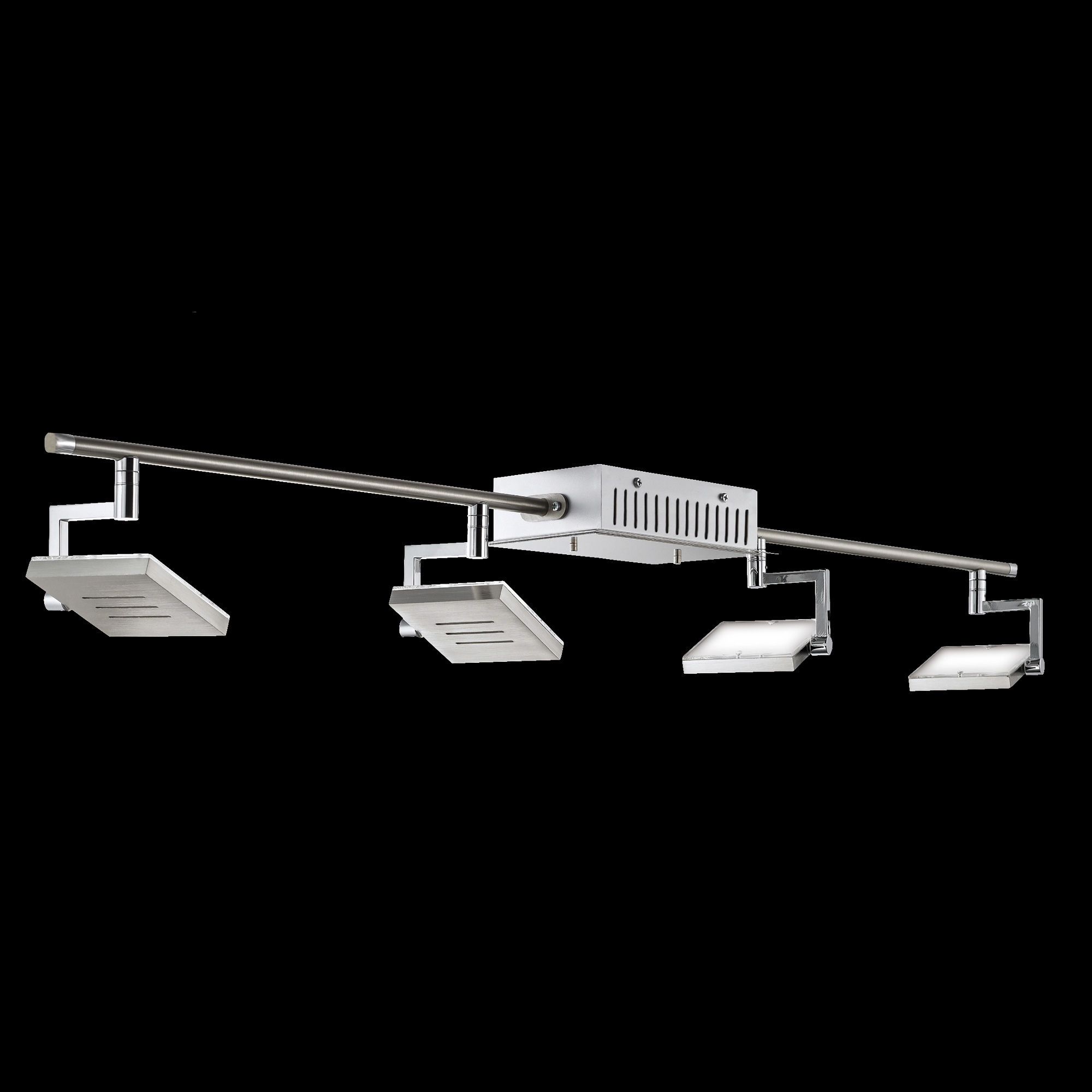 shine by fischer 16254 led deckenspot 4 flammig 16254 reuter onlineshop. Black Bedroom Furniture Sets. Home Design Ideas
