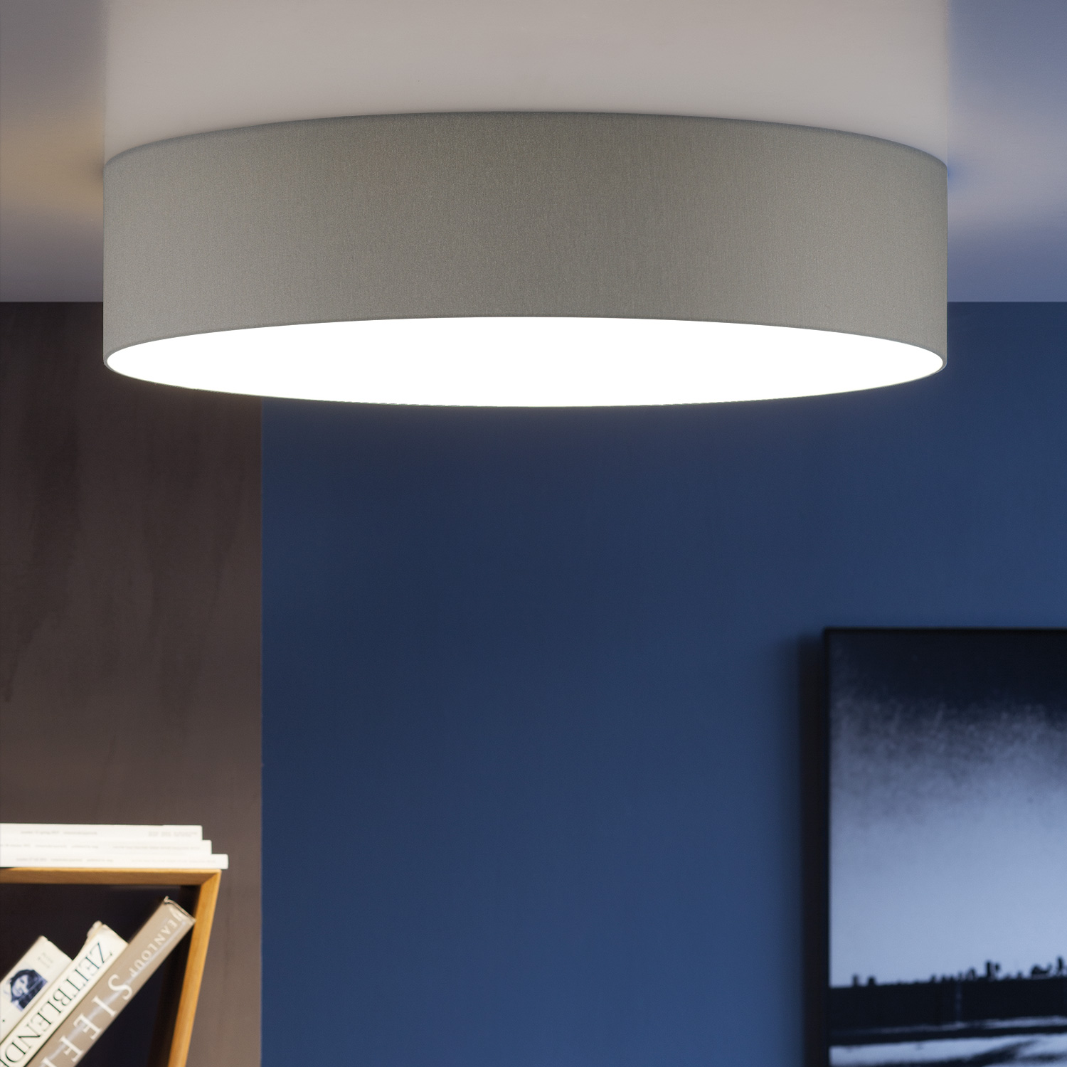 shine by fischer led deckenleuchte 53591 30620 31700. Black Bedroom Furniture Sets. Home Design Ideas