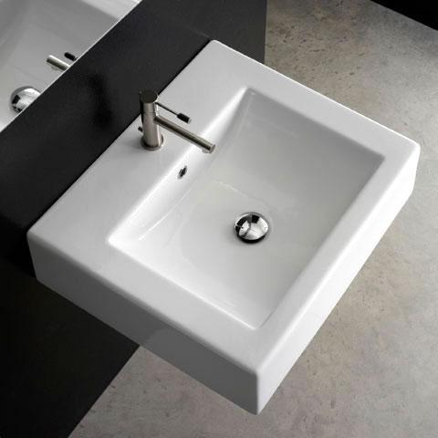 scarabeo square waschtisch wei 8025b reuter onlineshop. Black Bedroom Furniture Sets. Home Design Ideas