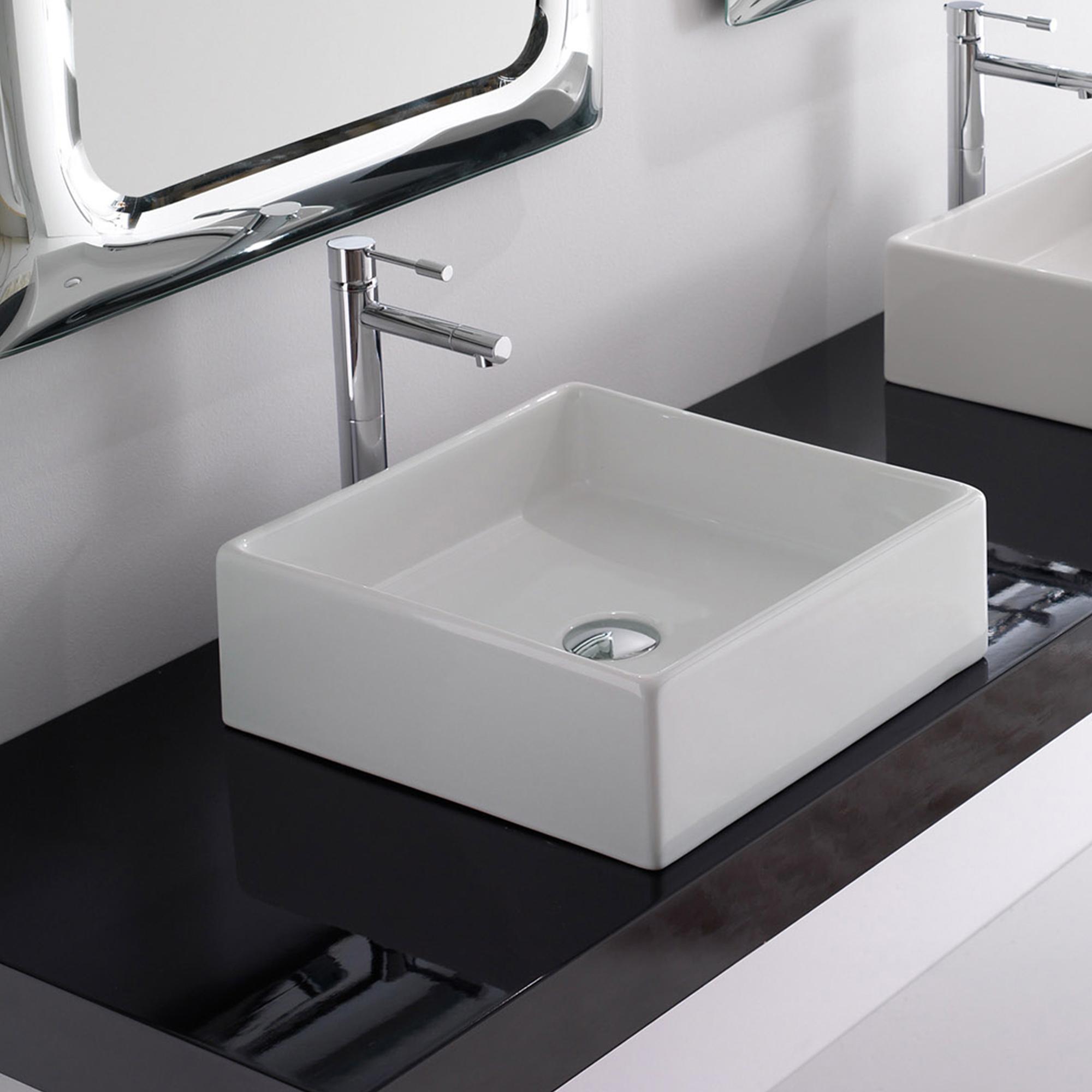 scarabeo teorema aufsatzwaschtisch wei 8031 reuter onlineshop. Black Bedroom Furniture Sets. Home Design Ideas