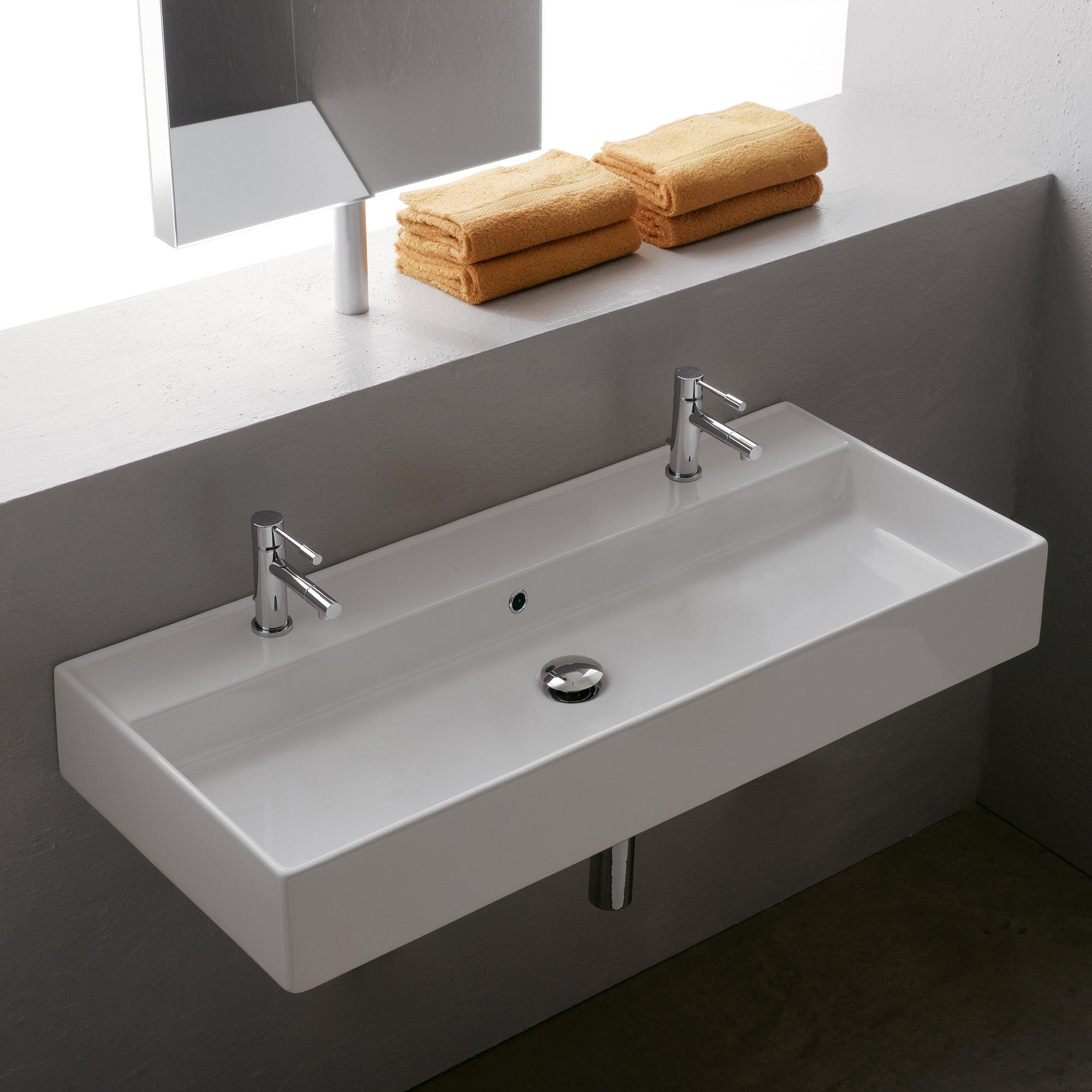 scarabeo teorema r 100 b waschtisch b 100 t 46 cm 8031r100b reuter onlineshop. Black Bedroom Furniture Sets. Home Design Ideas
