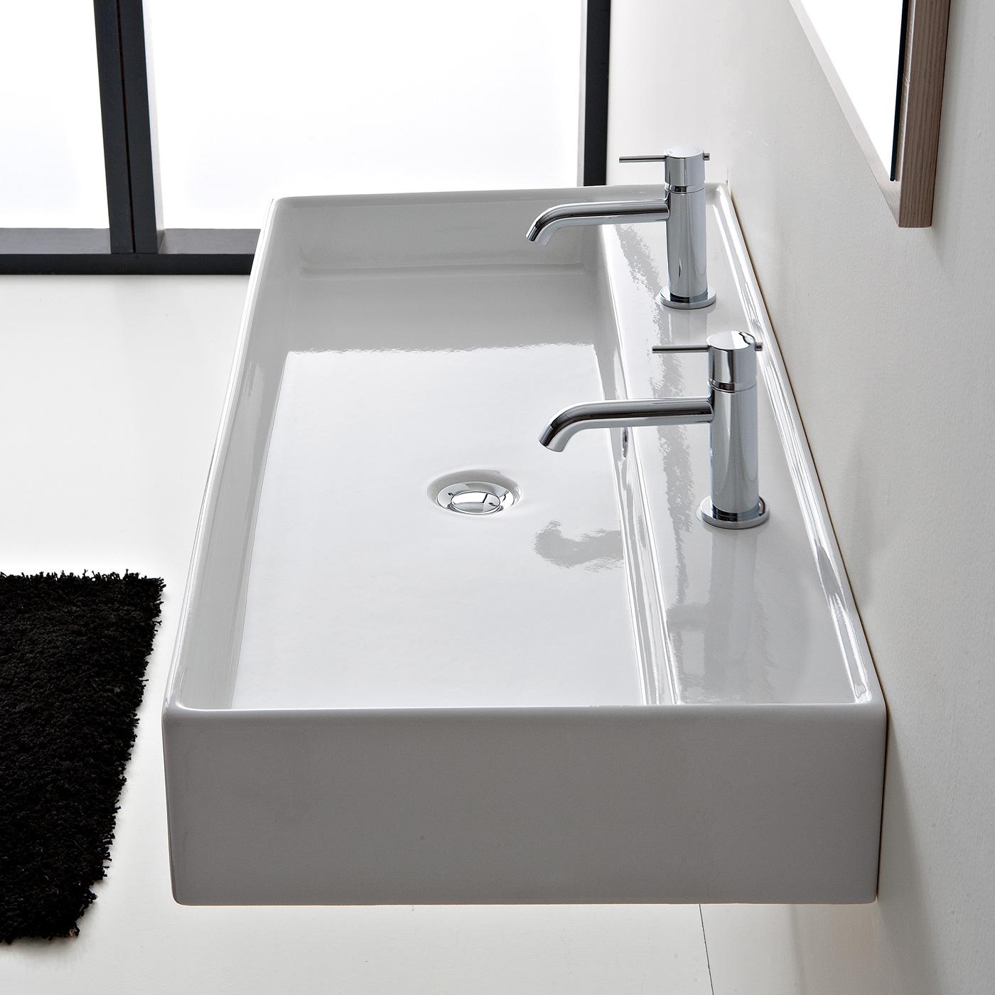 scarabeo teorema r 120 b waschtisch b 120 t 46 cm. Black Bedroom Furniture Sets. Home Design Ideas