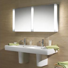 Schneider pepline spiegelschrank b 130 h 64 t 13 5 cm for Spiegelschrank 130 cm
