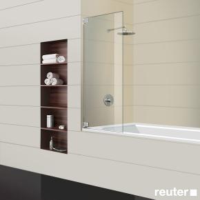 sprinz achat r plus badewannenabtrennung kristall hell chrom ar20 1 chr reuter onlineshop. Black Bedroom Furniture Sets. Home Design Ideas