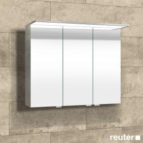 sprinz modern line aufputz spiegelschrank mit paneel beleuchtung ohne hintergrundbeleuchtung. Black Bedroom Furniture Sets. Home Design Ideas
