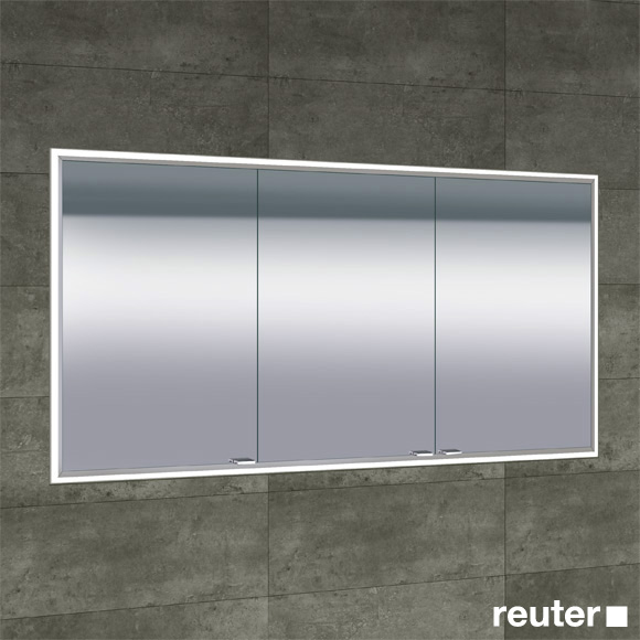 sprinz classical line unterputz spiegelschrank umlaufend beleuchtet c031500amam29e ll1500. Black Bedroom Furniture Sets. Home Design Ideas