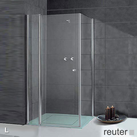 sprinz sprinter plus t r mit seitenwand kristall hell spriclean silber hochglanz wem 88 3 90. Black Bedroom Furniture Sets. Home Design Ideas