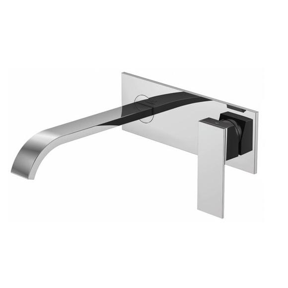 steinberg serie 135 waschtisch einhebelmischer zur wandmontage ausladung 200 mm. Black Bedroom Furniture Sets. Home Design Ideas