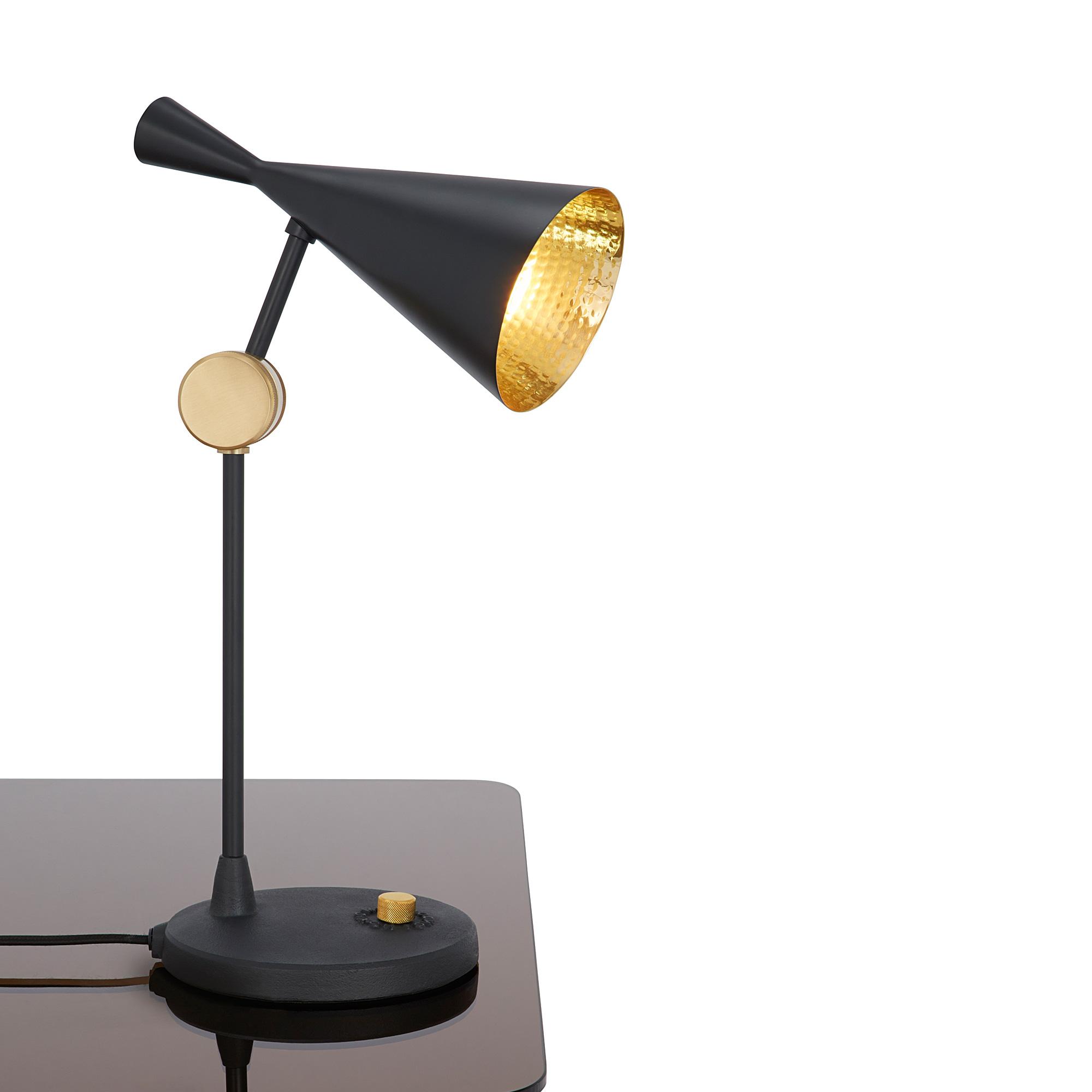 tom dixon beat table tischleuchte mit dimmer blt01eu. Black Bedroom Furniture Sets. Home Design Ideas