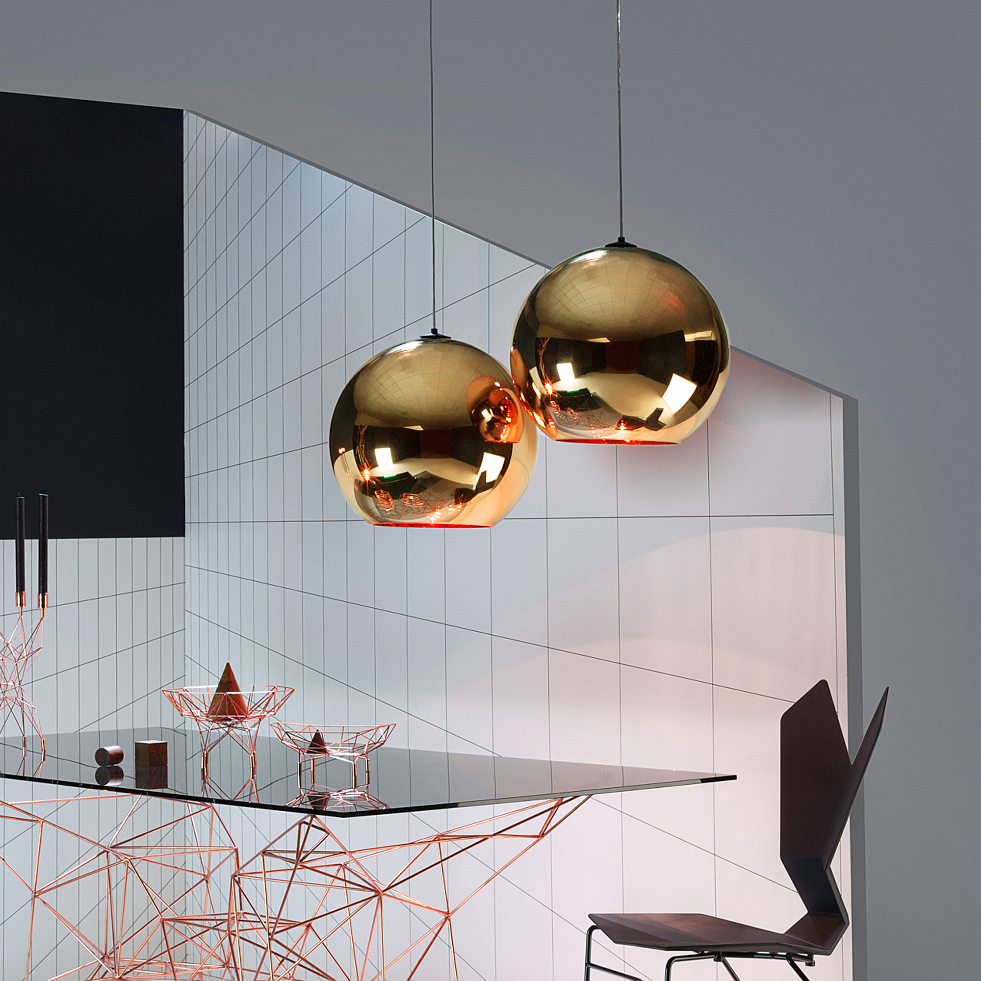 tom dixon copper pendelleuchte 45 mss4501 peum reuter onlineshop. Black Bedroom Furniture Sets. Home Design Ideas
