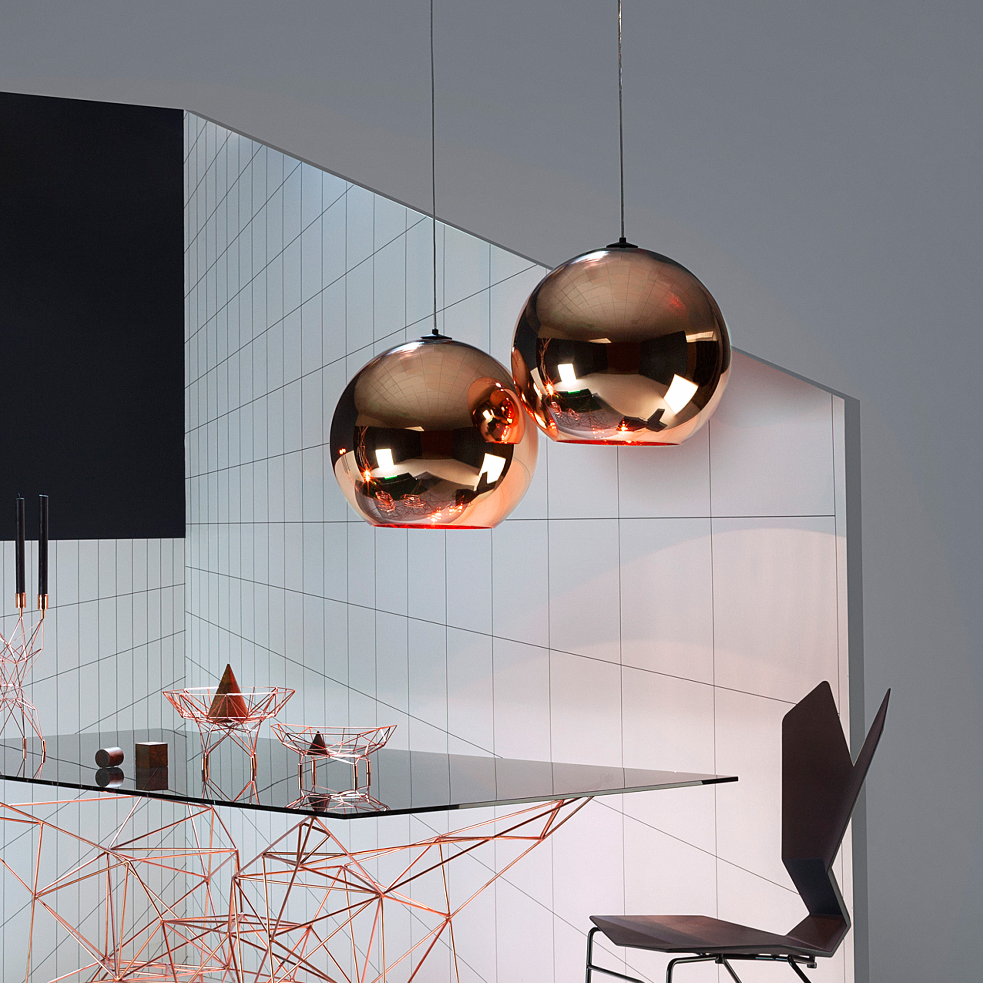 tom dixon copper pendelleuchte 25 mss25 peum reuter. Black Bedroom Furniture Sets. Home Design Ideas