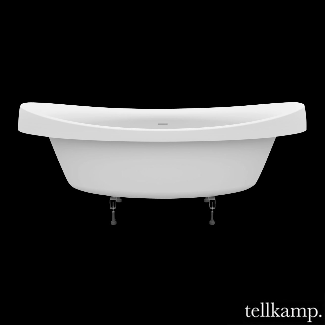 tellkamp spirit fix oval badewanne 0400 283 a cr. Black Bedroom Furniture Sets. Home Design Ideas
