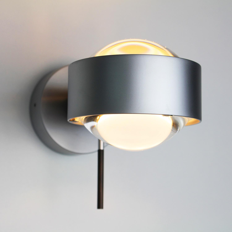 top light puk wall led wandleuchte 2 0801 led reuter. Black Bedroom Furniture Sets. Home Design Ideas