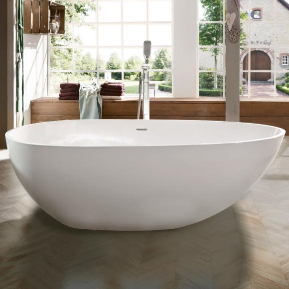 freistehende badewanne mineralguss machen sie den. Black Bedroom Furniture Sets. Home Design Ideas
