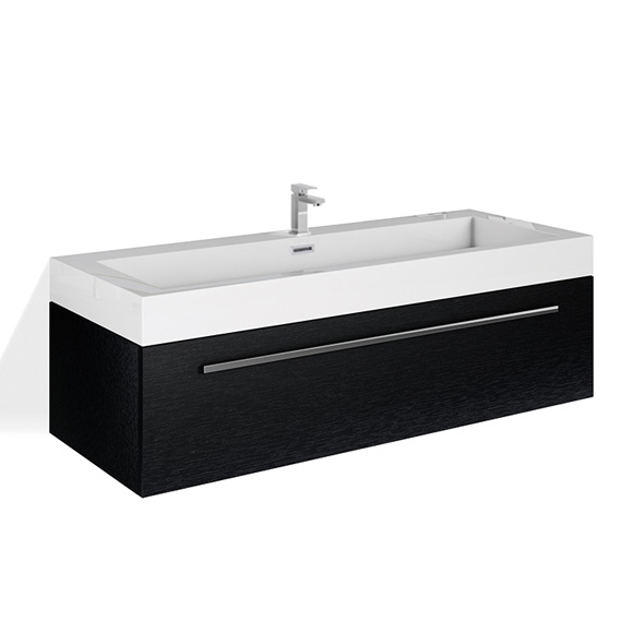 treos serie 900 waschtischunterschrank mit waschtisch b. Black Bedroom Furniture Sets. Home Design Ideas