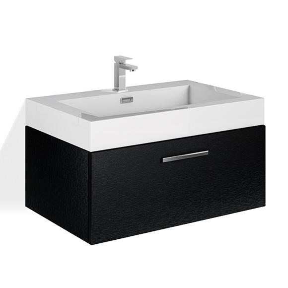 treos serie 900 waschtischunterschrank mit 1 auszug und waschtisch b wood reuter. Black Bedroom Furniture Sets. Home Design Ideas