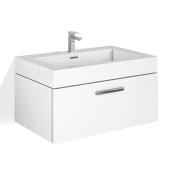 treos serie 900 waschtischunterschrank mit 1 auszug und waschtisch white reuter. Black Bedroom Furniture Sets. Home Design Ideas