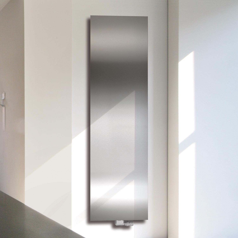 vasco niva vertikal heizk rper n1l1 es einlagig edelstahl. Black Bedroom Furniture Sets. Home Design Ideas