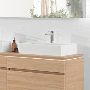 villeroy boch memento waschtisch f r montage mit m beln konsole wei mit 1 hahnloch 51335l01. Black Bedroom Furniture Sets. Home Design Ideas