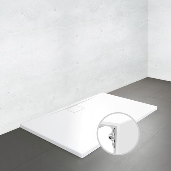 villeroy boch architectura metalrim duschwanne flach randh he 4 8 cm wei. Black Bedroom Furniture Sets. Home Design Ideas