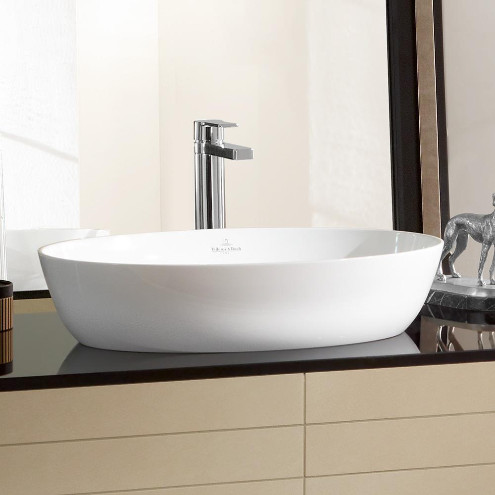 villeroy boch artis aufsatzwaschtisch b 61 t 41 cm wei 41986101 reuter onlineshop. Black Bedroom Furniture Sets. Home Design Ideas